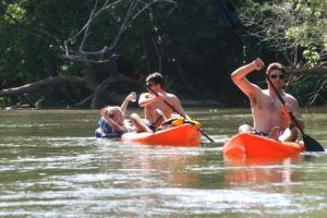 Tubing and Kayak Rentals Along Catawba River